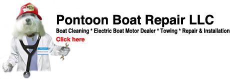 pontoont boat repair